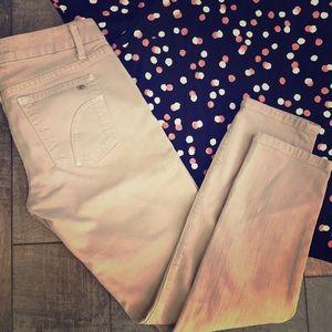 JOE'S Skinny Ankle Jeans Low Raise Light Gray